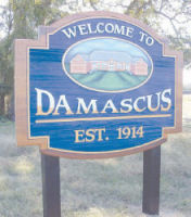 The new welcome signs recently erected along the roads leading into town are a hint that positive changes are underway in Damascus